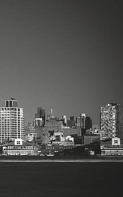 Photograph - View From Across The Hudson_print 30x48_right by Eduard Moldoveanu