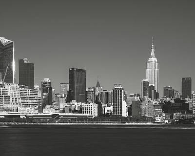 Photograph - View From Across The Hudson_print 60x48 by Eduard Moldoveanu