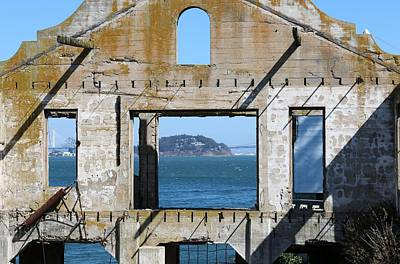 Photograph - View From Alcatraz  by Christy Pooschke