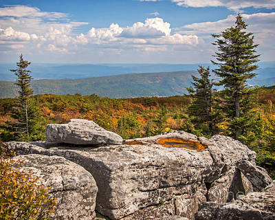 Photograph - View From Bear Rocks 4173c by Cynthia Staley
