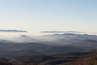 Photograph - View From Blood Mountain by Paul Rebmann