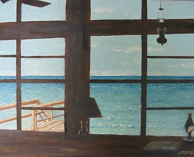 View From Blue House II Art Print by John Terry