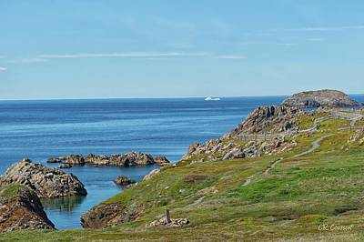 Photograph - View From Bonavista by CR Courson