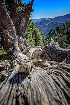 Photograph - View From Bumpass Hell by LeeAnn McLaneGoetz McLaneGoetzStudioLLCcom