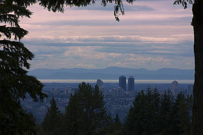Photograph - View From Burnaby Mountain by Barbara  White