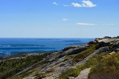 Photograph - View From Cadillac Mountain by Chris Alberding