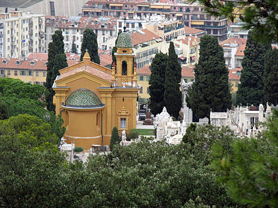 Photograph - View From Castle Hill In Nice by Dianne Levy