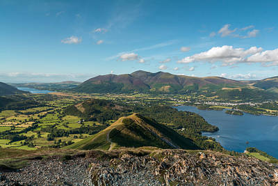 Photograph - View From Catbells by Stuart Gennery
