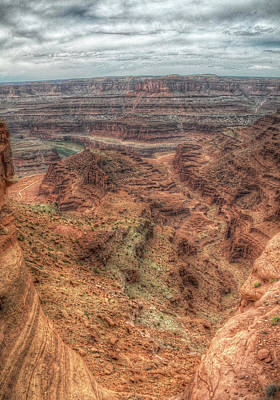 Photograph - View From Dead Horse Point by Michael Kirk