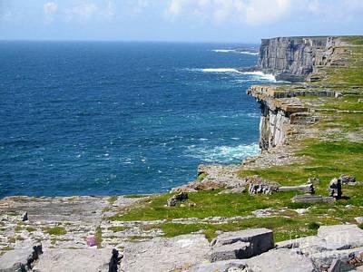 Photograph - View From Dun Aonghasa by Richard Deurer