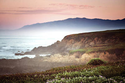 Cambria Photograph - View From Fiscalini Ranch In Cambria by Vicki Jauron