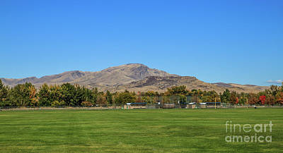 Softball Photograph - View From Gem Island Sport Complex by Robert Bales