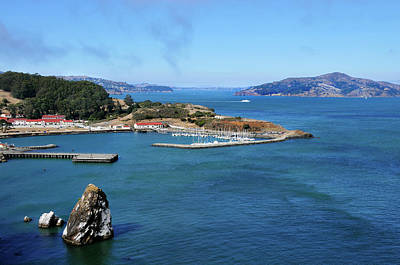 Sausalito Photograph - View From Golden Gate by Amy Dooley
