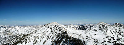 Personalized Name License Plates - View from Hidden Peak by Carl Nielsen