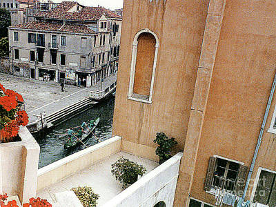 Photograph - View From Hotel Window - Venice, Italy by Merton Allen