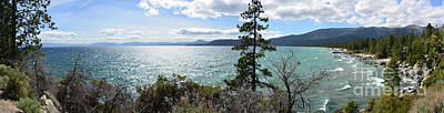 Photograph - View From Incline Village by Joe Lach