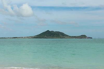 Photograph - View From Kailua Beach by Carolyn Ricks
