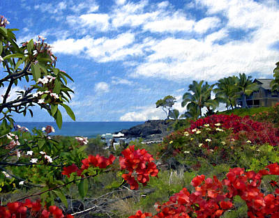 Photograph - View From Keauhou Kona by Kurt Van Wagner