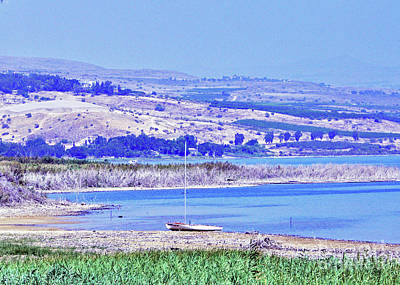 Photograph - View From Kibbutz Ginosar 3 by Lydia Holly
