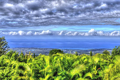Photograph - View From  Kona by Joe  Palermo