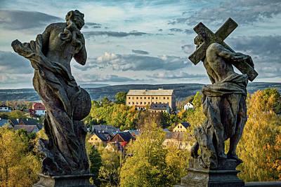 Photograph - View From Kuks Hospital - Czechia by Stuart Litoff