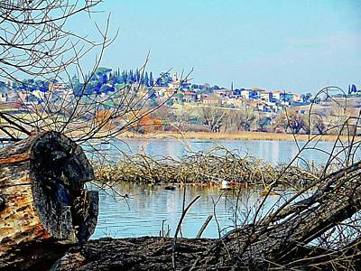 Photograph - View From Lago Di Chiusi To Vaiano by Dorothy Berry-Lound