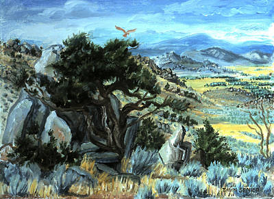 Painting - View From Little Mountain by Dawn Senior-Trask