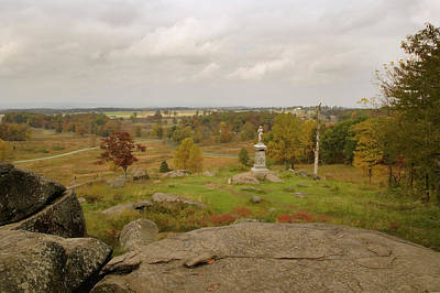 Photograph - View From Little Round Top 2 by Mick Burkey