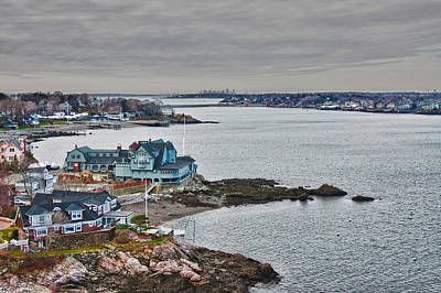 Photograph - View From Marblehead Lighthouse by Jeff Folger