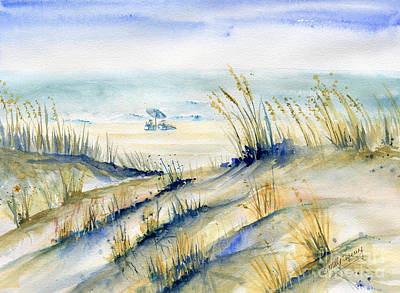 Painting - View From Marty's Playland Ocmd by Melly Terpening