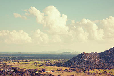 Joseph Photograph - View From Mihintale by Joseph Westrupp