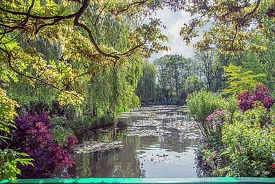 Photograph - View From Monet's Bridge by John Rivera
