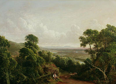 View From Mount Ida Art Print