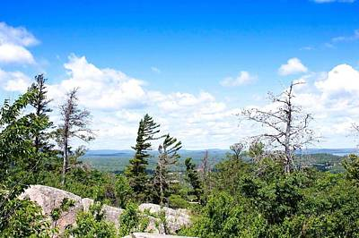 View From Mount Marquette Art Print