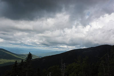 Photograph - View From Mount Washington  by Suzanne Gaff