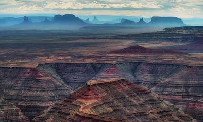 Photograph - View From Muley Point 1 - Utah by Nikolyn McDonald