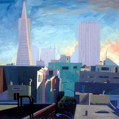 View From My Studio Art Print