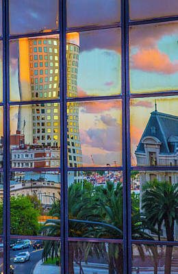 Photograph - View From My Window At Sunset by Venetia Featherstone-Witty