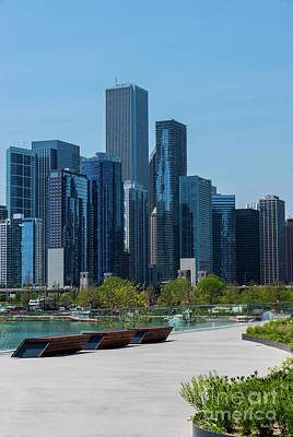 Photograph - View From Navy Pier by Jennifer White