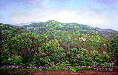 Painting - View From Neita's Nest  by Ewan  McAnuff