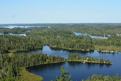 Photograph - View From On High- Temagami by David Porteus
