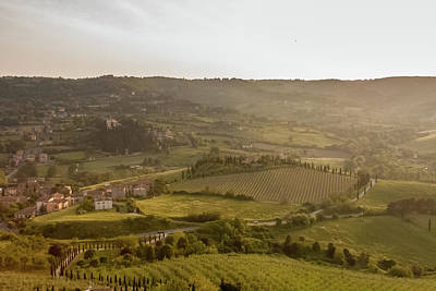 Photograph - View From Orvieto by Kathleen McGinley