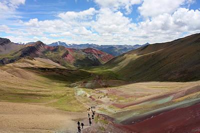 Photograph - View From Palomani Pass, Peru by Aidan Moran