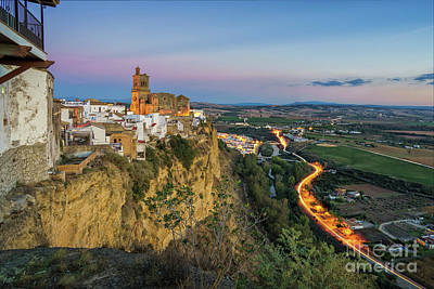 Photograph - View From Parador Arcos De La Frontera Cadiz Spain by Pablo Avanzini