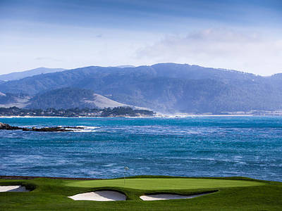 Photograph - View From Pebble Beach by Robin Zygelman