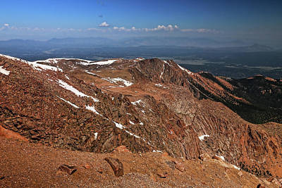 Photograph - View From Pikes Peak 2 by Judy Vincent