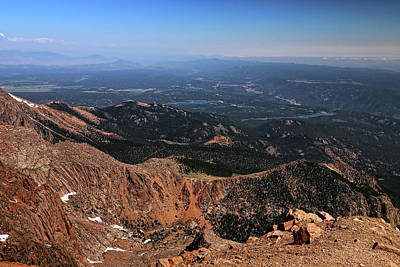 Photograph - View From Pikes Peak 3 by Judy Vincent