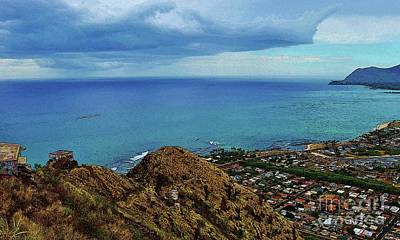 Photograph - View From Pillbox by Craig Wood