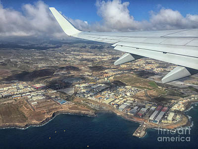 Photograph - View From Plane by Patricia Hofmeester