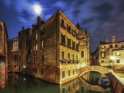 Photograph - View From Ponte Del Piovan by James Billings